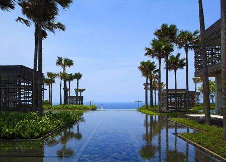Tổng thể công trình là chuỗi cấu trúc sinh vật - mặt nước-đại dương-chân trời - Ảnh © alila hotels
